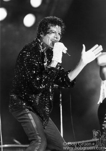 Michael Jackson, NY, 1984