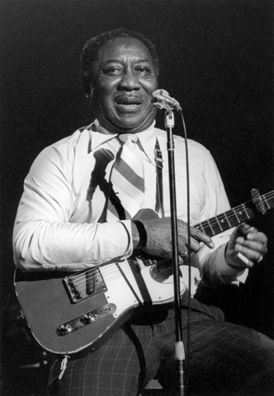 Muddy Waters, NYC, 1977