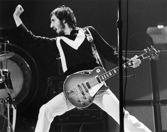 Pete Townsend, NYC, 1973