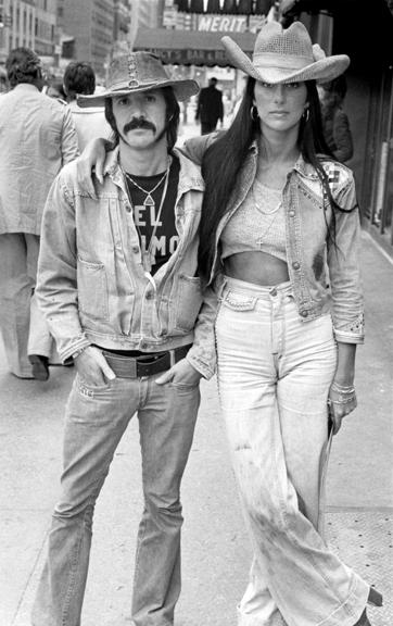 Sonny & Cher, NYC, 1973