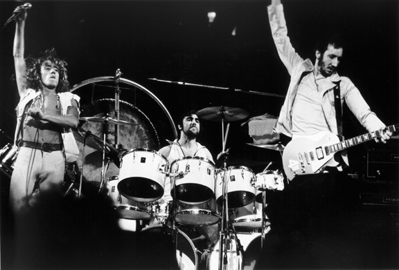 The Who, NYC, 1976