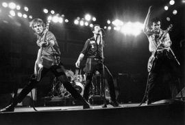 The Clash on Stage, Boston 1979