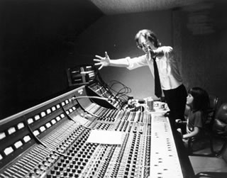 In Studio, NYC, 1980