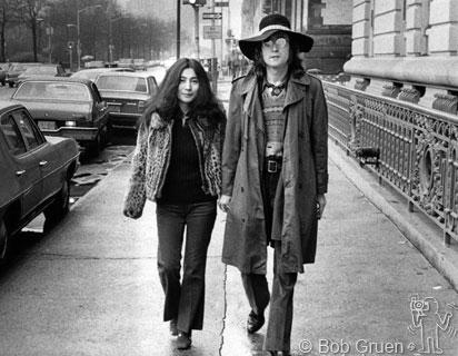 John Yoko, NYC, 1973