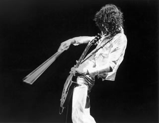 Jimmy Page Violin, NYC, 1977