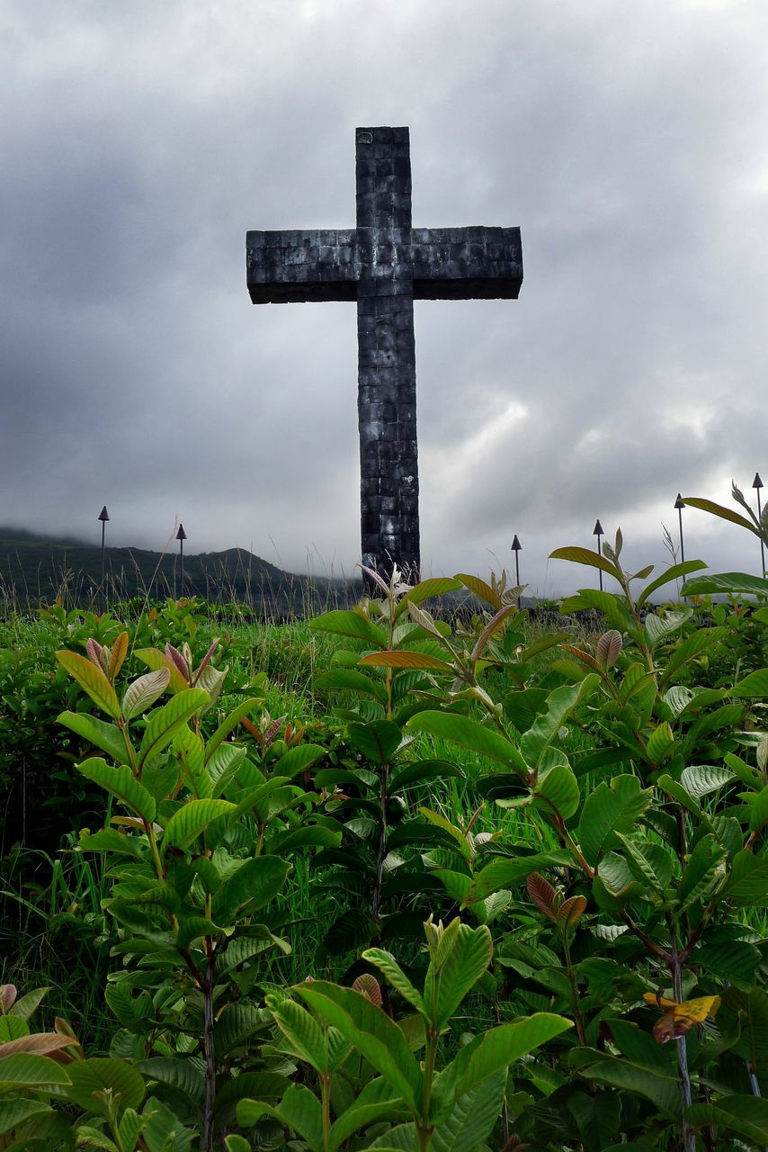 "The Cross in Hana (Colour) 30"" x 20"""