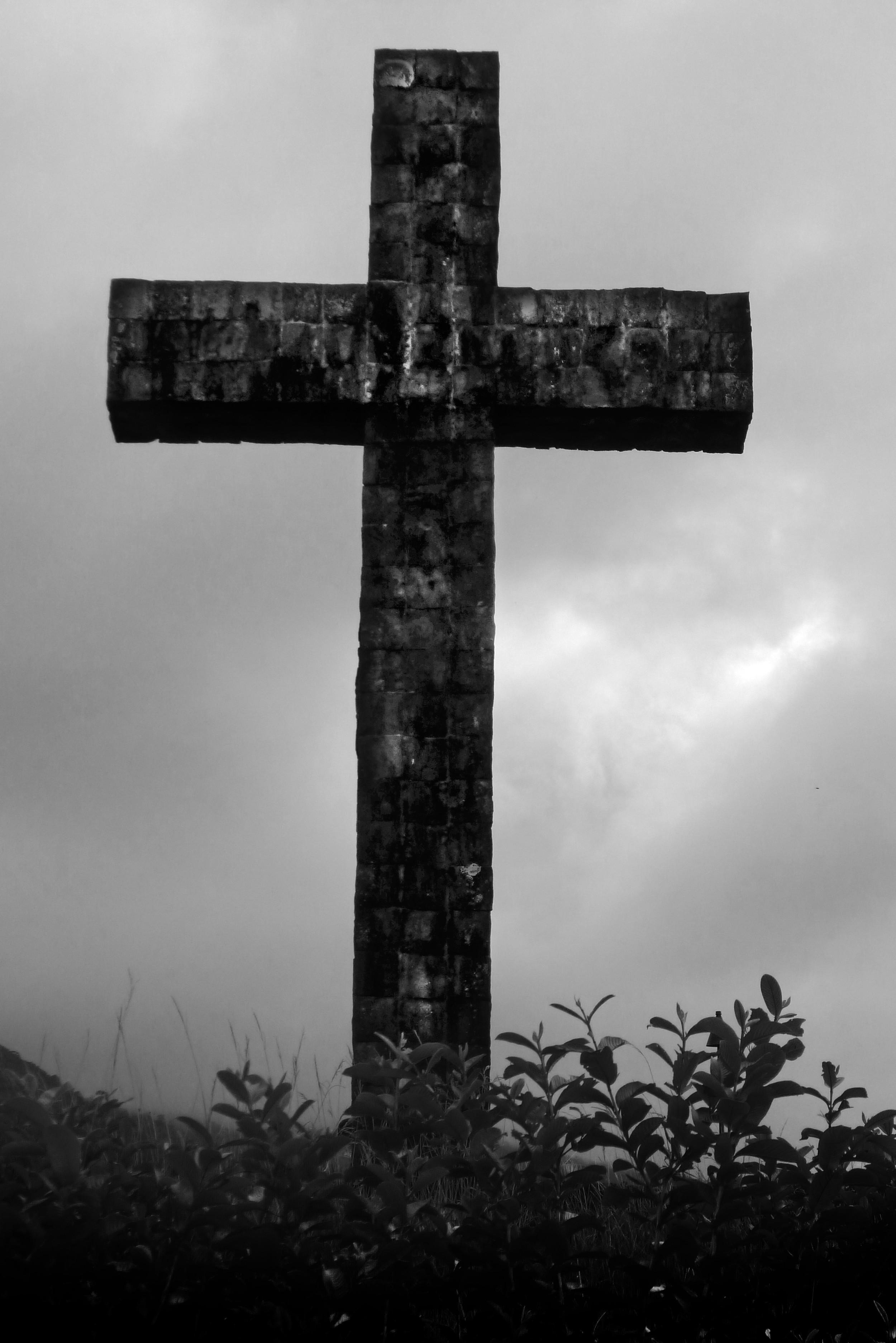 """The Cross in Hana 30"""" x 20"""""""