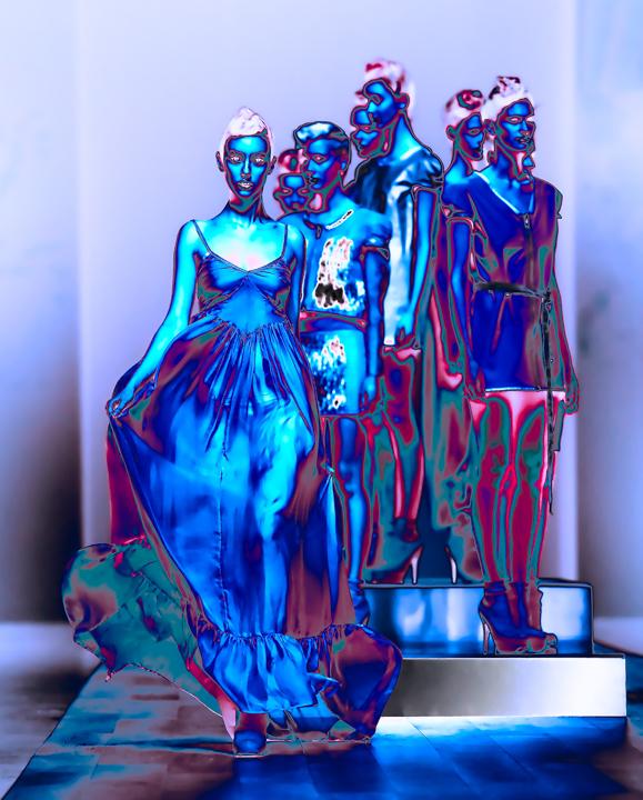 Inner Glow in Blue