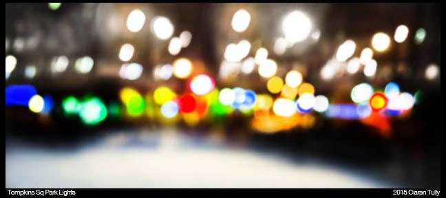 Tompkins Square Park Lights
