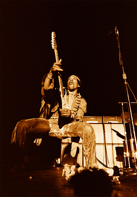 Jimi Hendrix Hawaii 1969