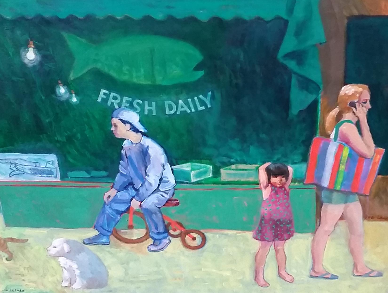 "Fresh Daily  31.5"" x 39.5"""