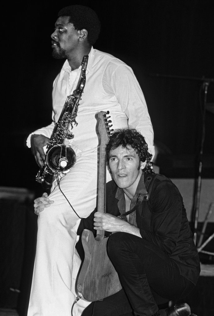 Bruce Springsteen and Clarence Clemons 1982 (2)