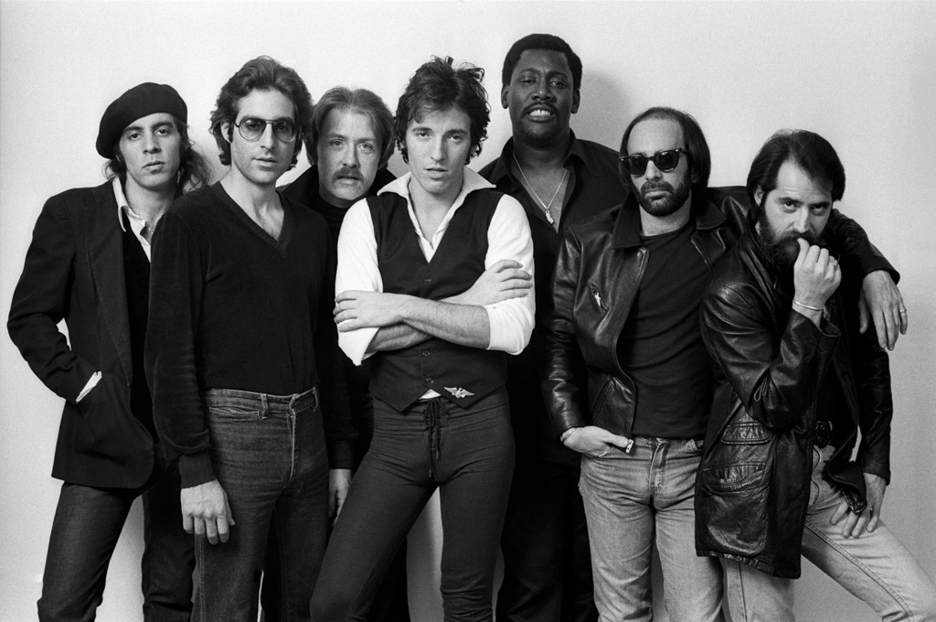 Bruce Springsteen and e street band 1977