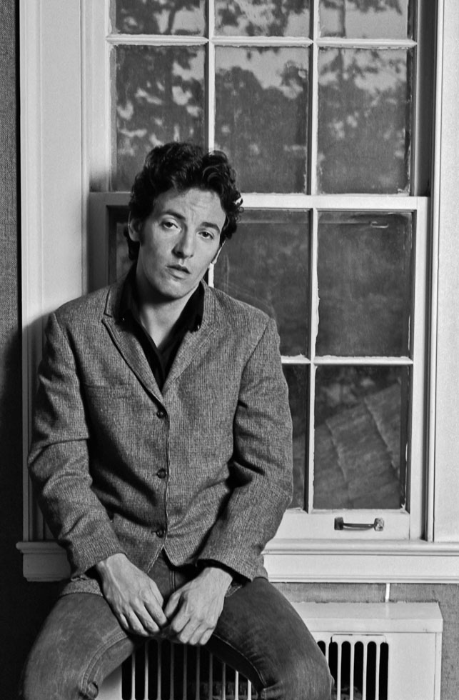Bruce Springsteen Window 1977