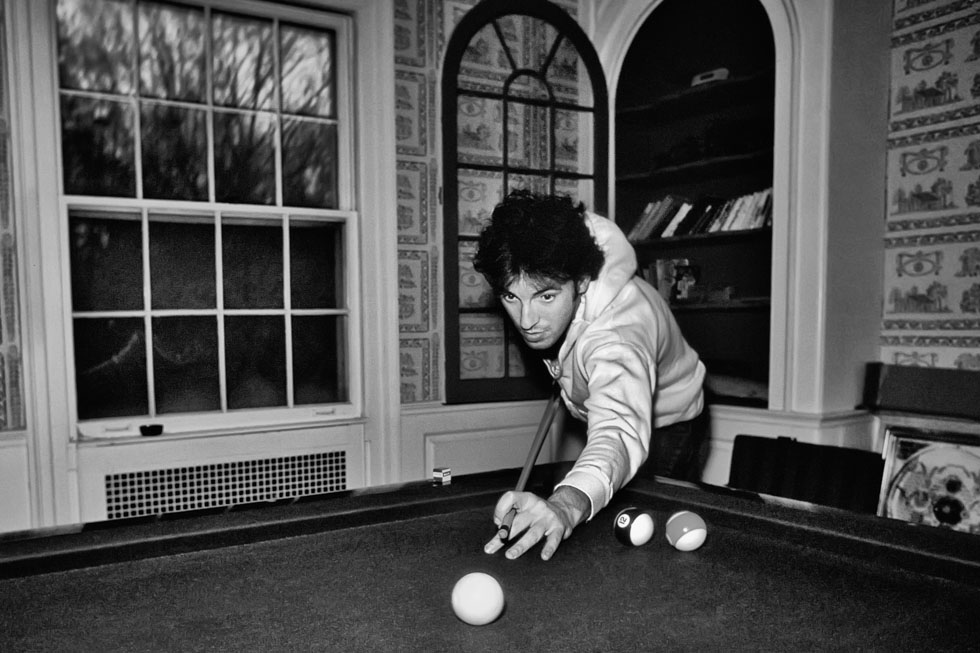 Bruce Springsteen Pool 1978