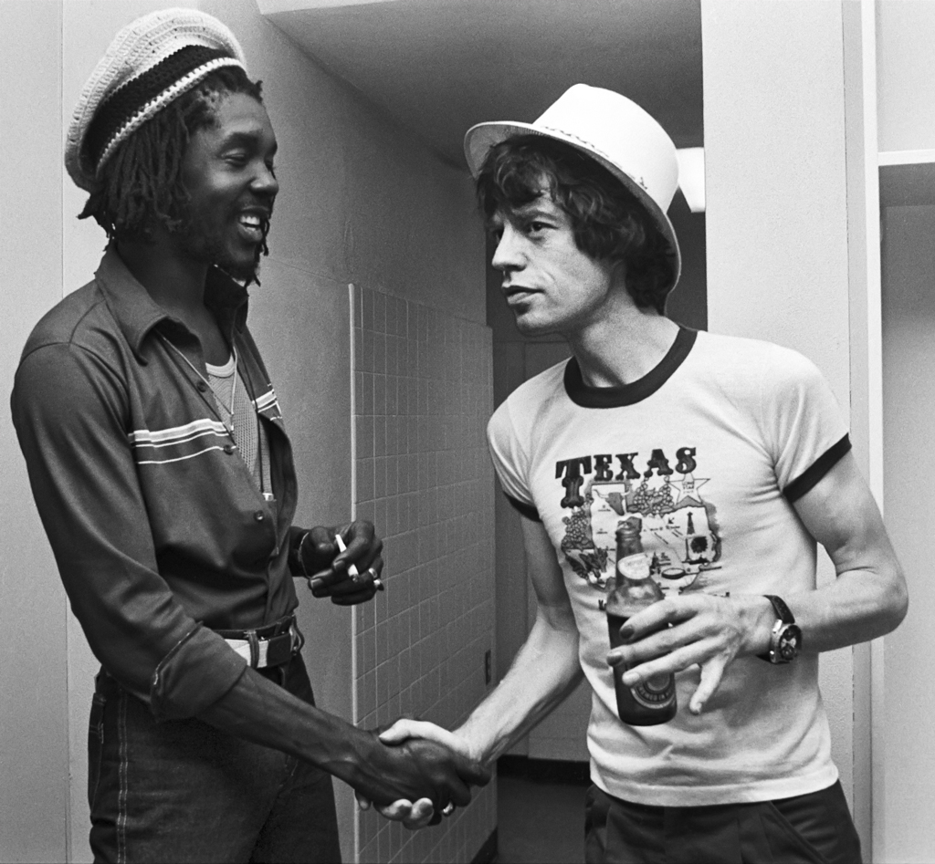Rolling Stones, Mick Jagger and Peter Tosh 1978
