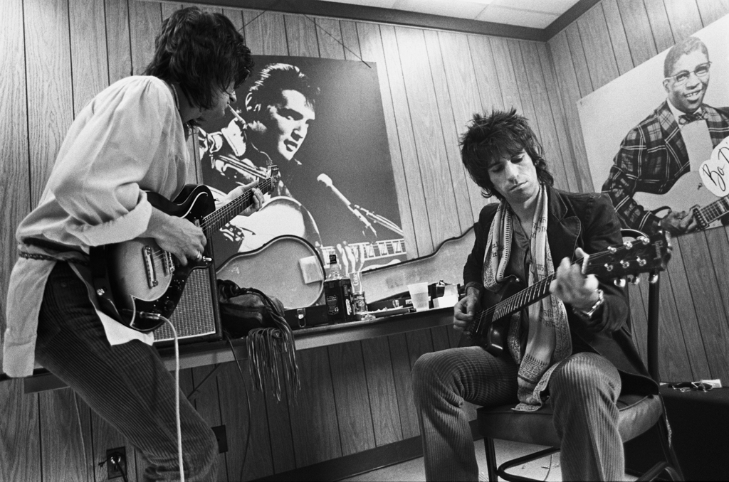 Rolling Stones, Keith Richards and Ron Wood (1978)