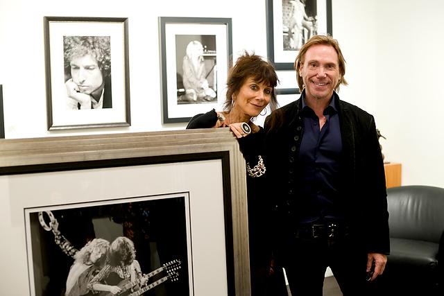 Lynn Goldsmith and Rob Steele