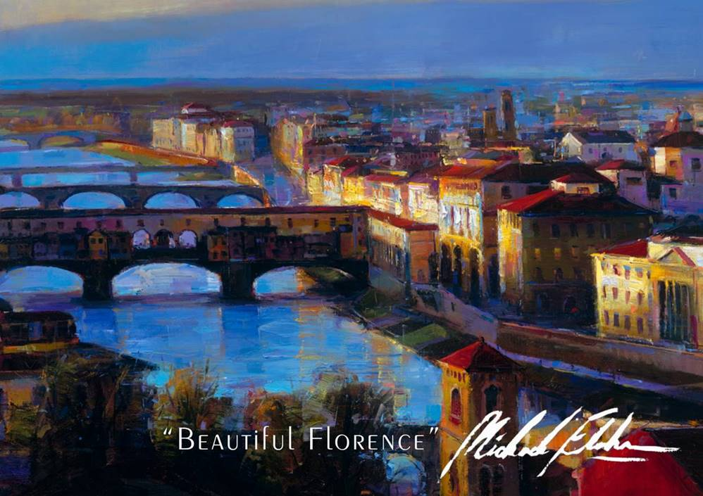 "Beautiful Florence 36"" x 65"""