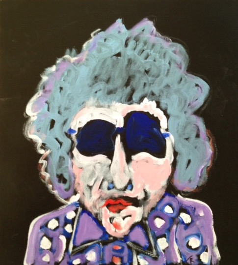 "Bob Dylan - Highway 61 Revisited 19"" x 19"""