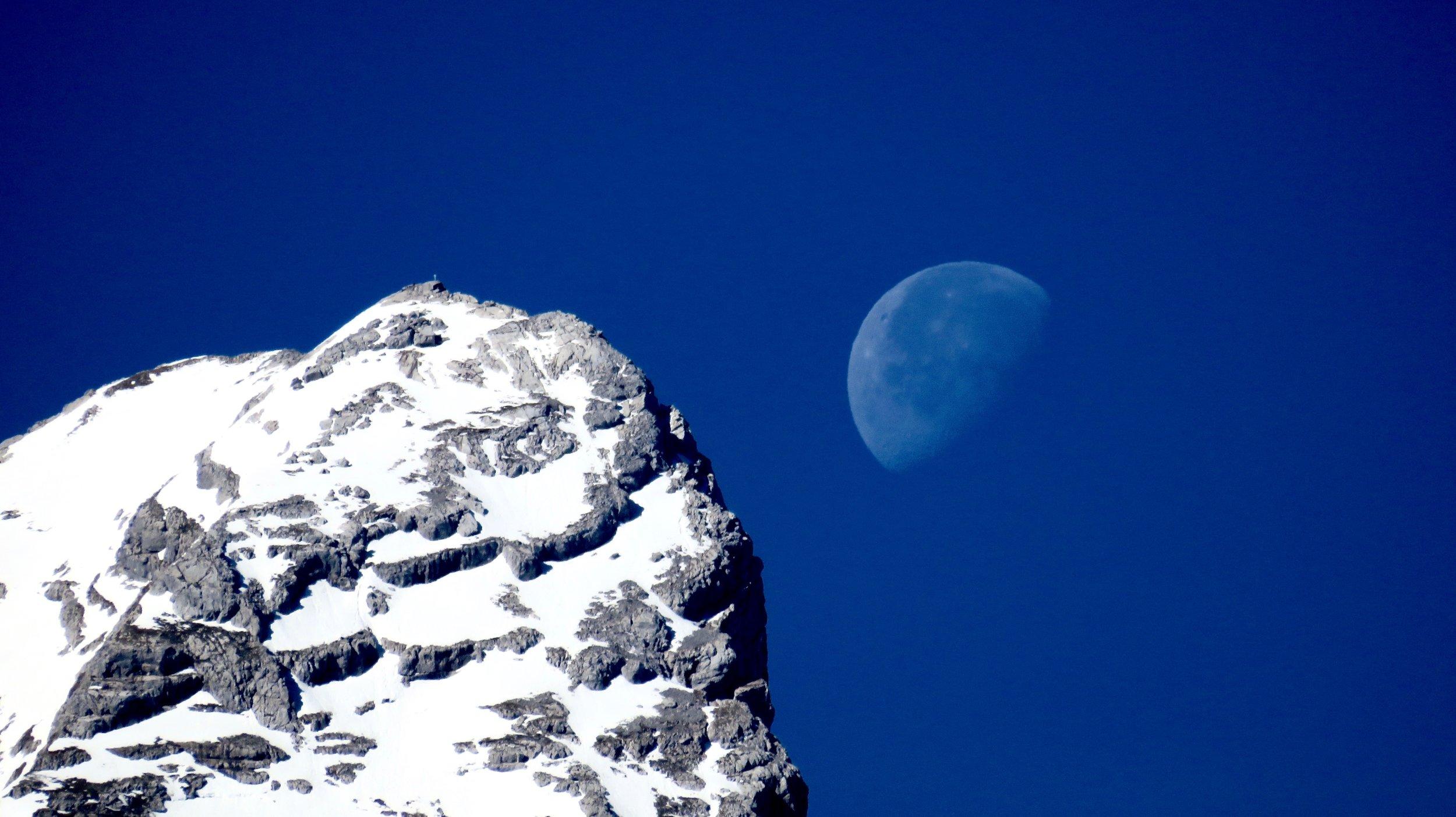 Moon & Mountains I
