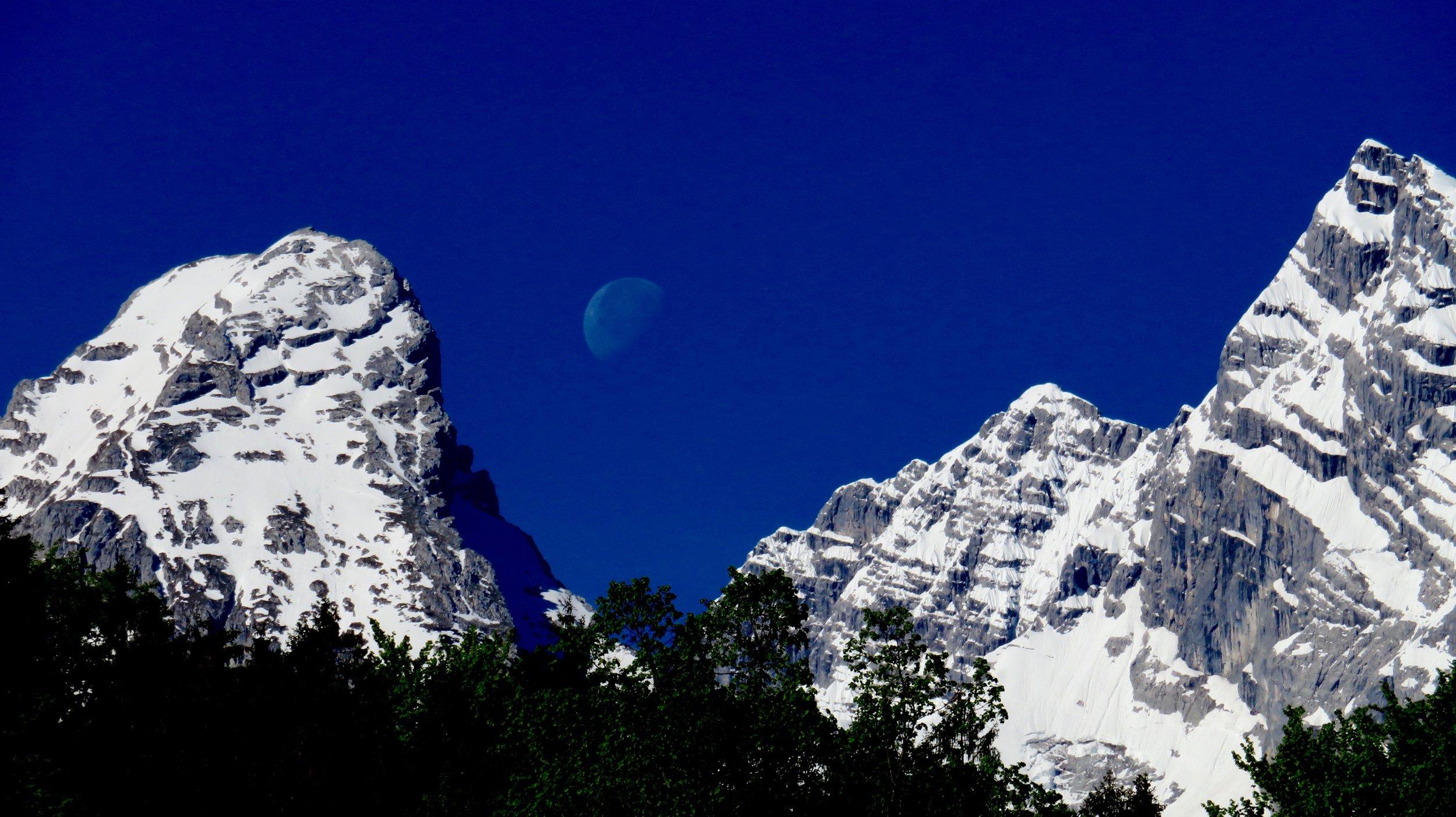 Moon & Mountains II