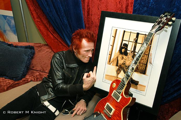 Scott Wyland and Slash Photo Grammys 2005