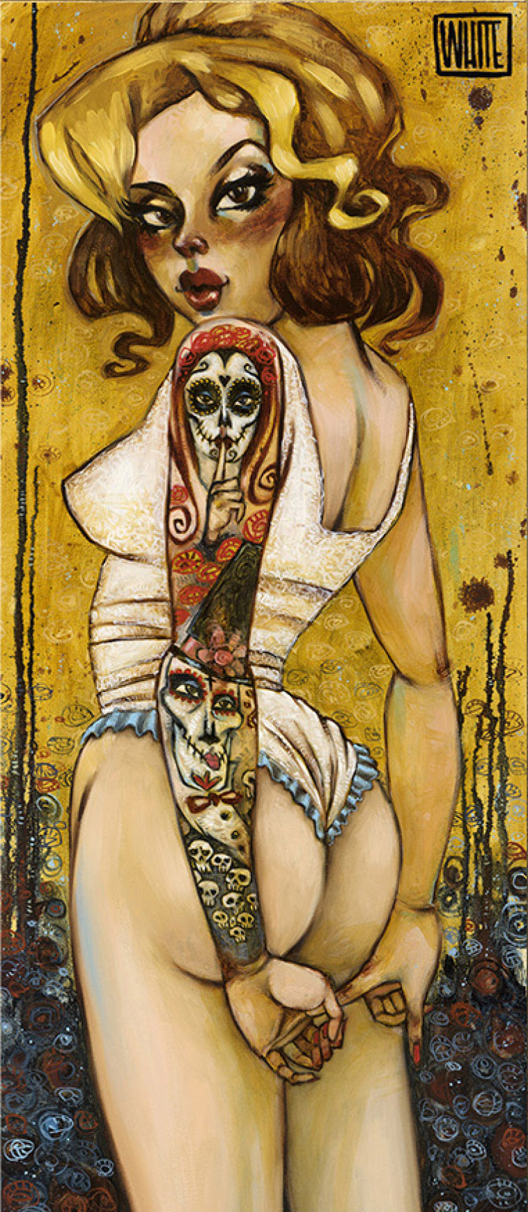 """Tainted Love 28.75""""x12.5"""""""