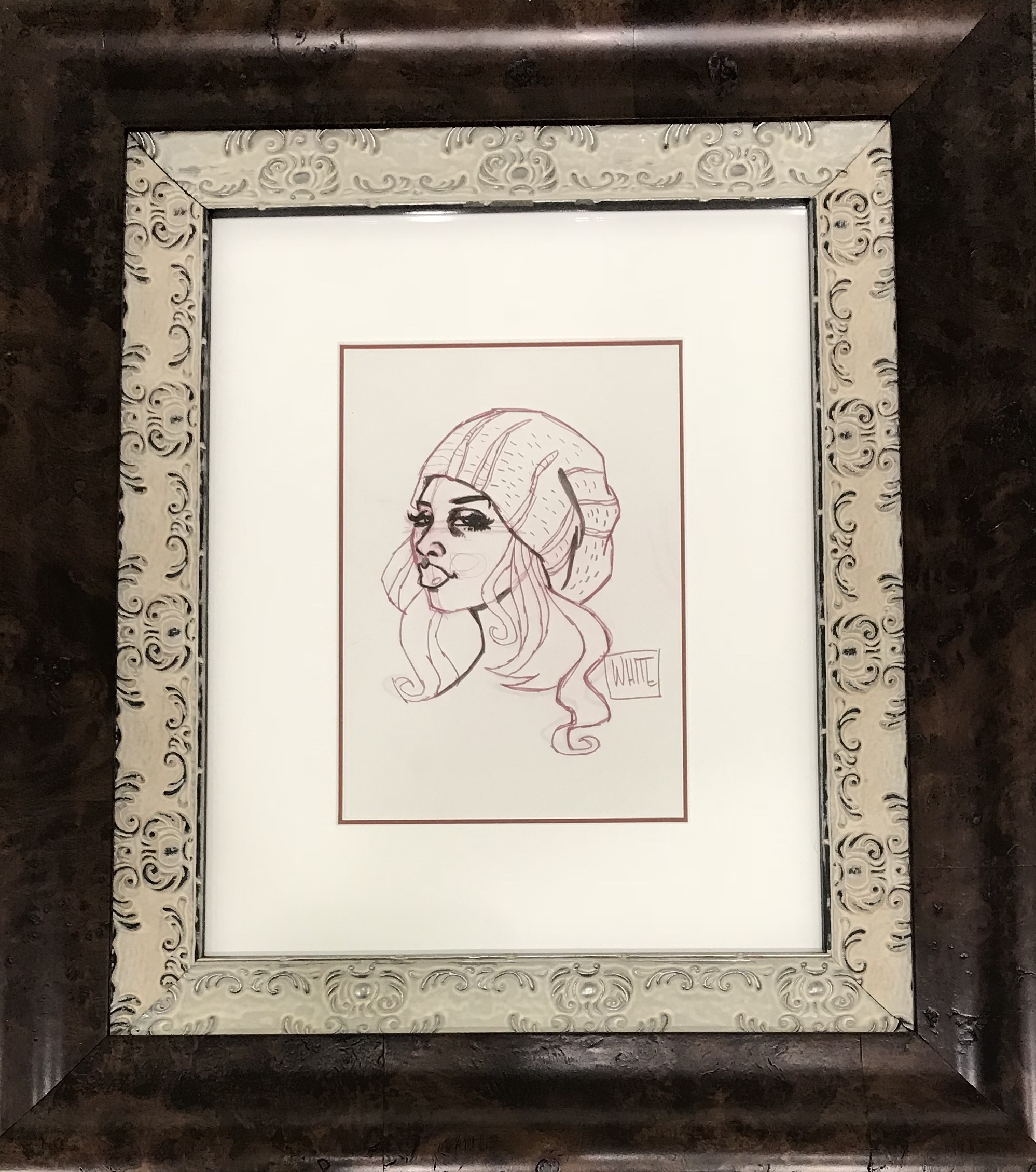 """She's Not Buying It SKETCH – 7"""" x 10"""""""
