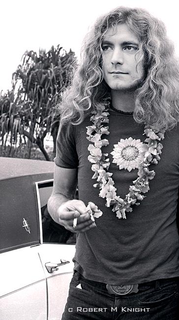 Robert Plant, Honolulu Airport, 1969
