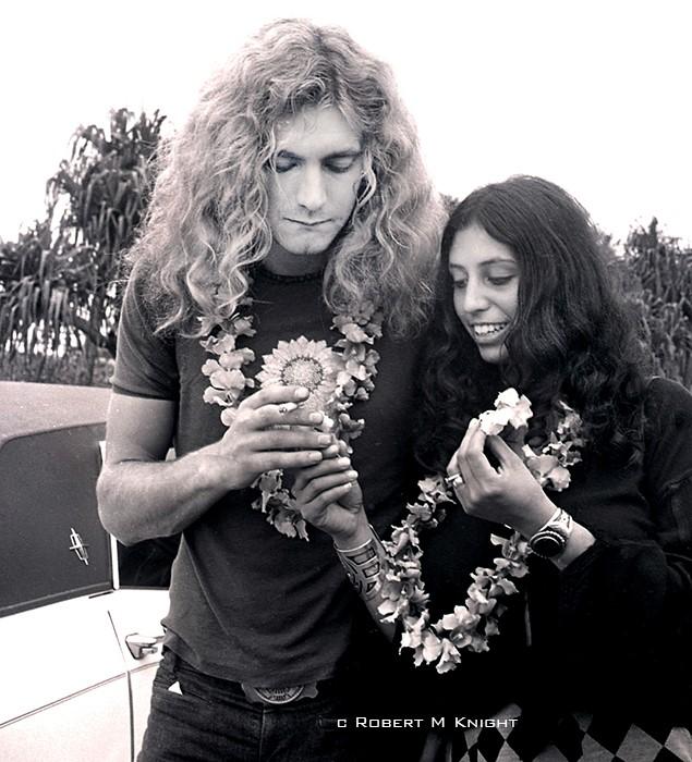 Robert Plant Gets Lai'd, Honolulu  Airport, 1969
