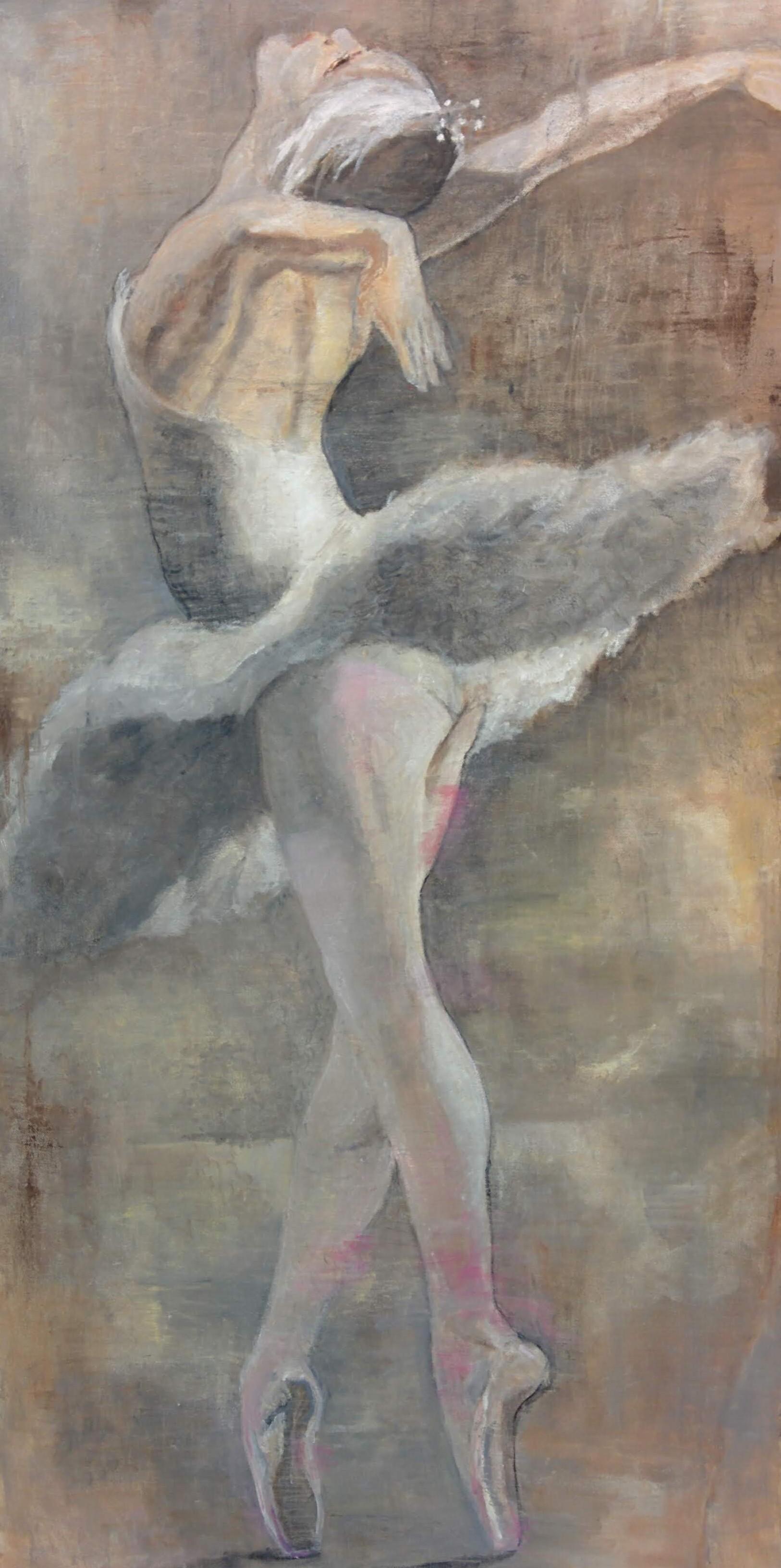 "Dancer VI 48"" x 24"""