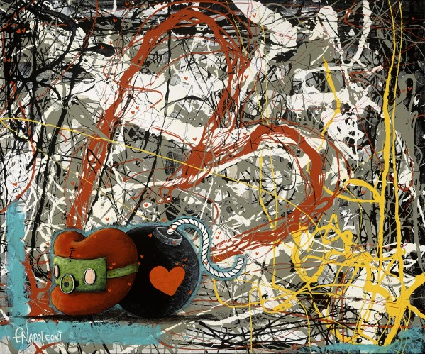Explosion of Emotion - 20x24
