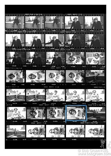 John Lennon Contact Sheet II