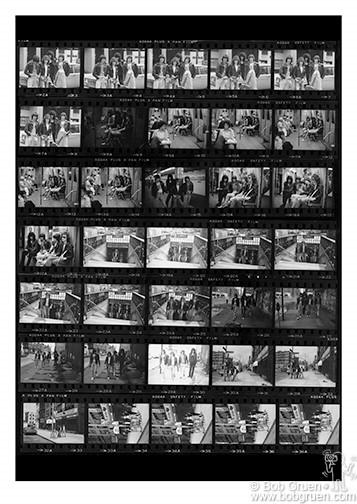 Ramones Contact Sheet