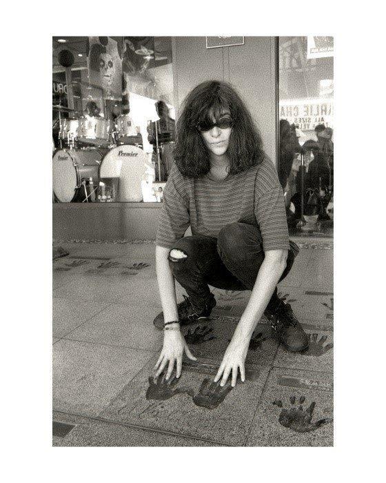Joey Ramone, Hollywood, 1996