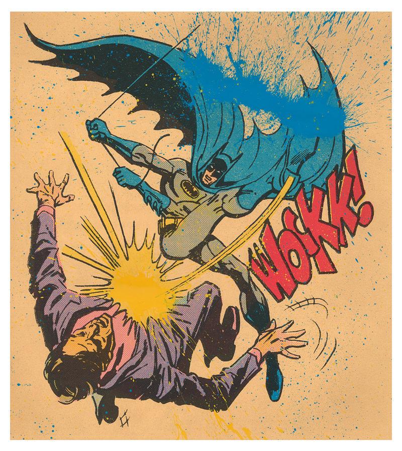 "BAT-WOCKK! - 45""x41"""