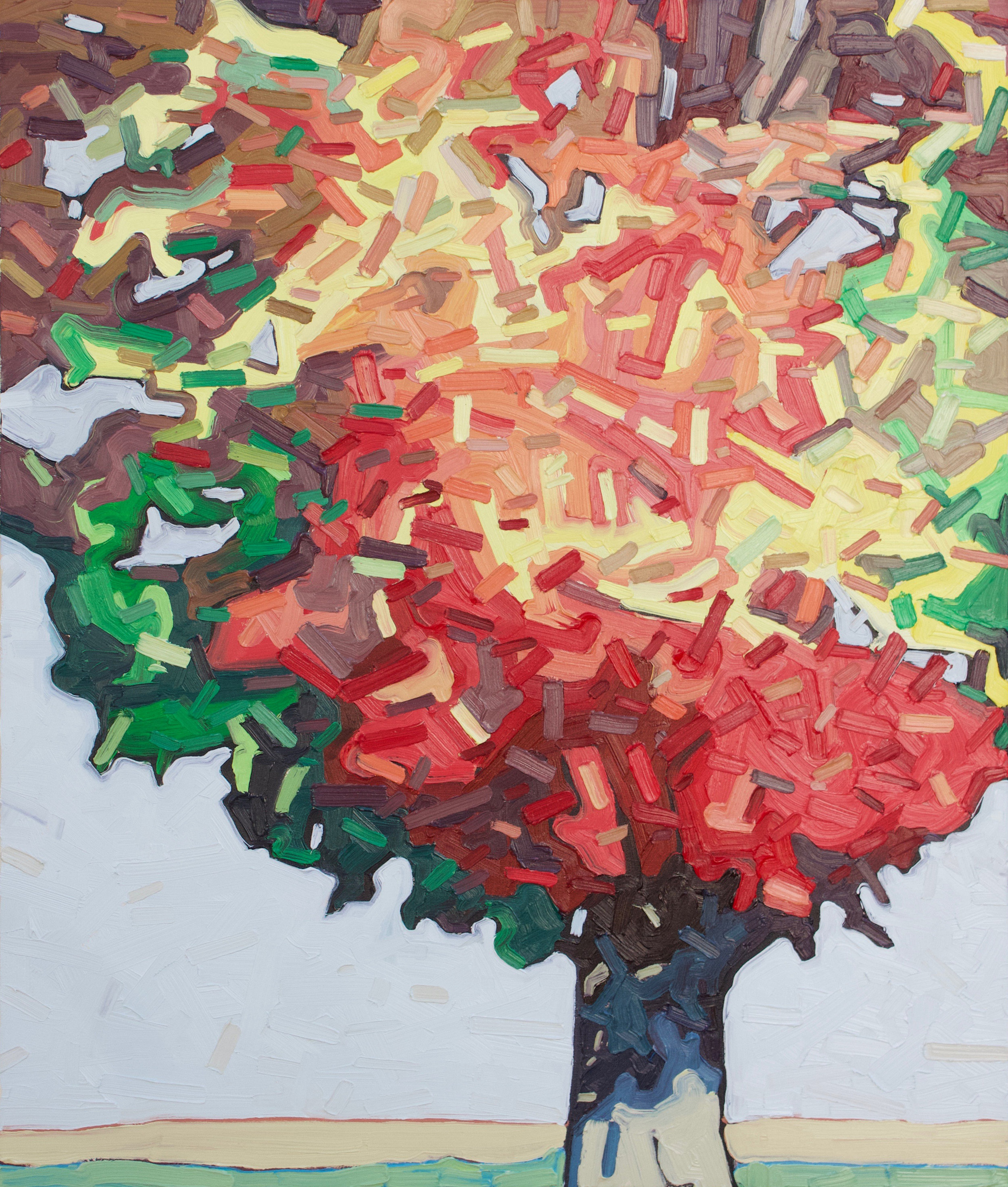 """Back to Roots 4 - 36""""x30"""""""