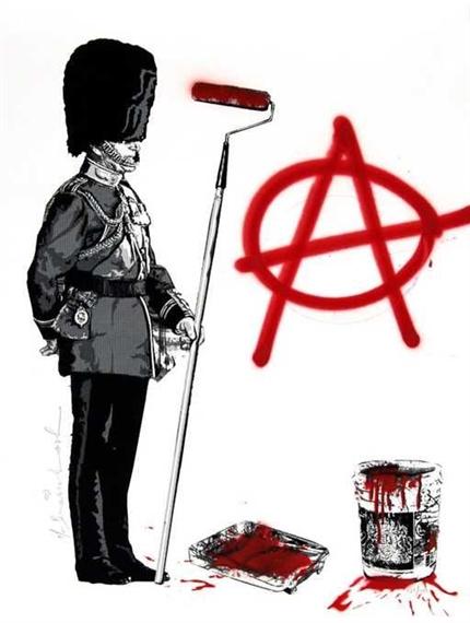 """Anarchy - 30""""x22"""""""