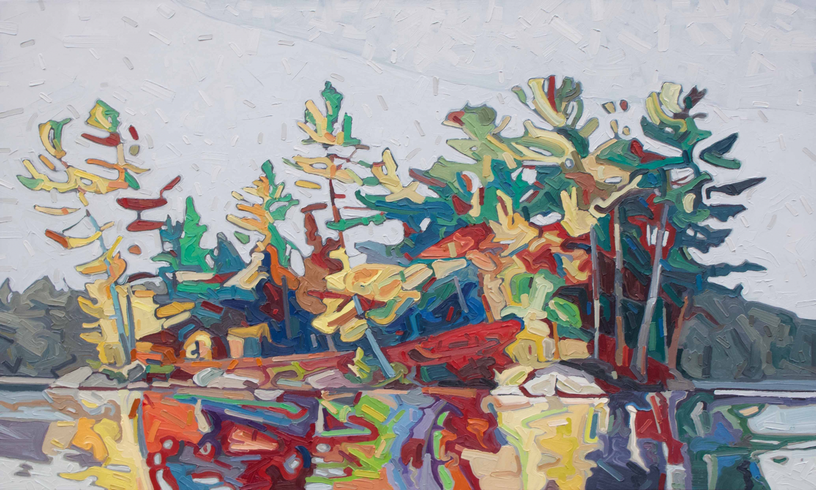 """Lookout Island #3 - 36""""x60"""""""