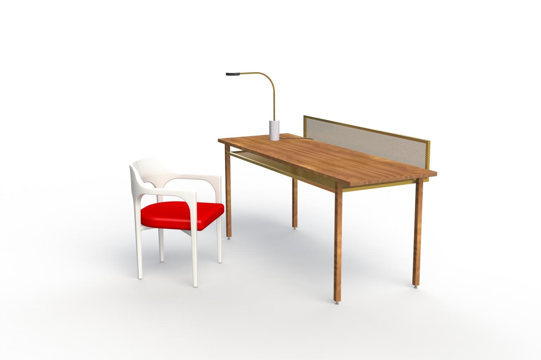 ALLWOOD_WHITE +RED SEAT_DESK BRASS +WALNUT.JPG