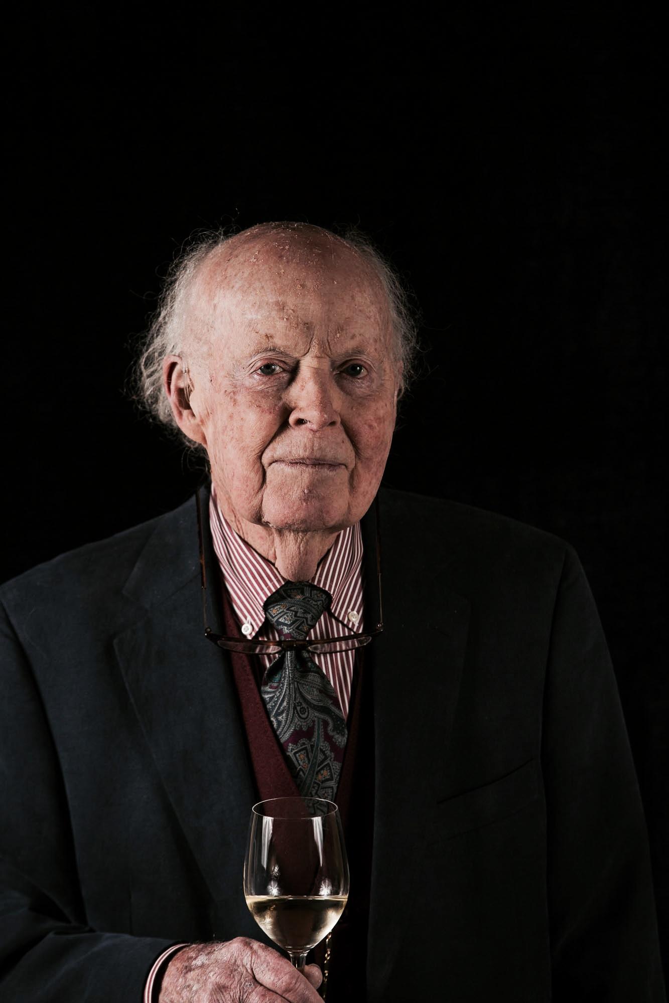 Davis Bynum, Winemaker on his 90th birthday.