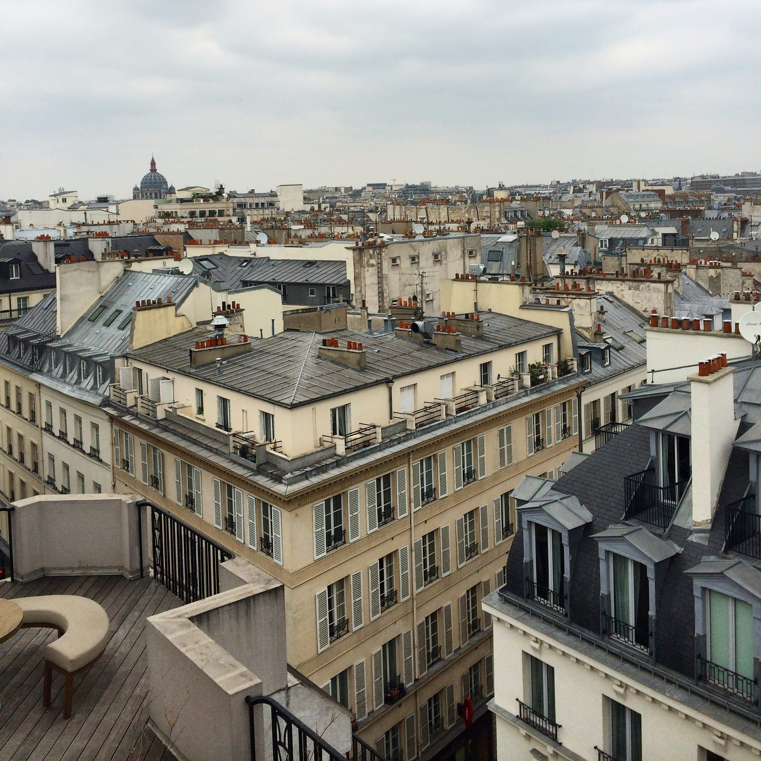 View from my Paris flat in 1 st Arrondissement (Palais-Royal/Vendome/Saint-Honore)