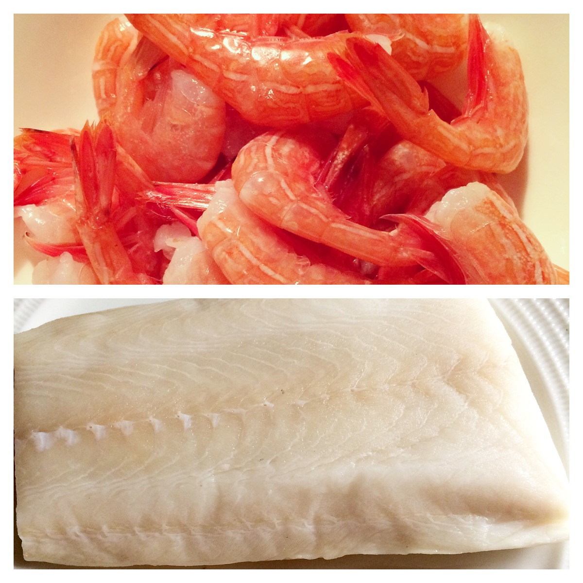 Sablefish and BC Side Stripe Shrimp