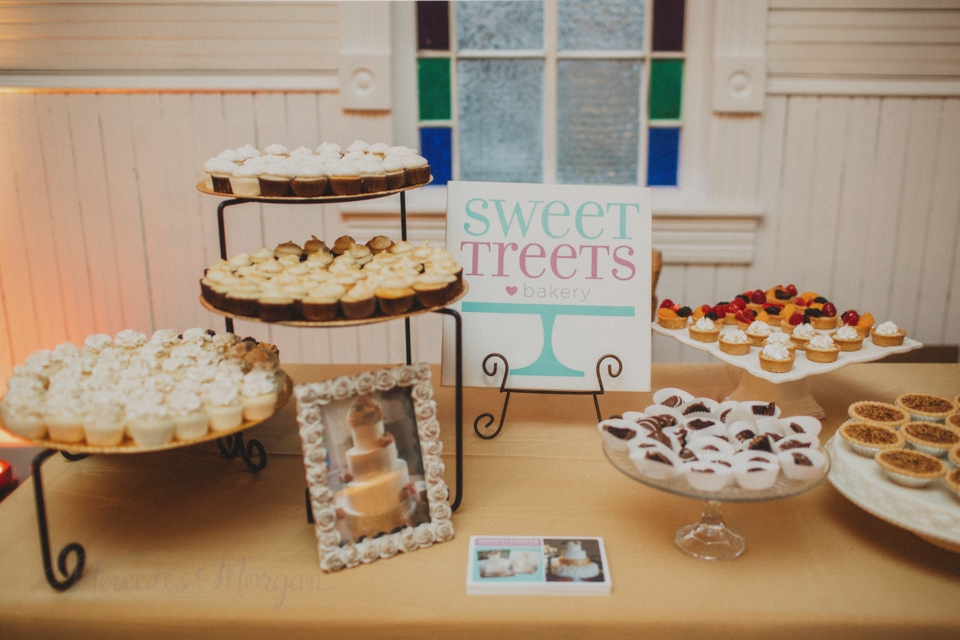 Dessert bar from Sweet Treets