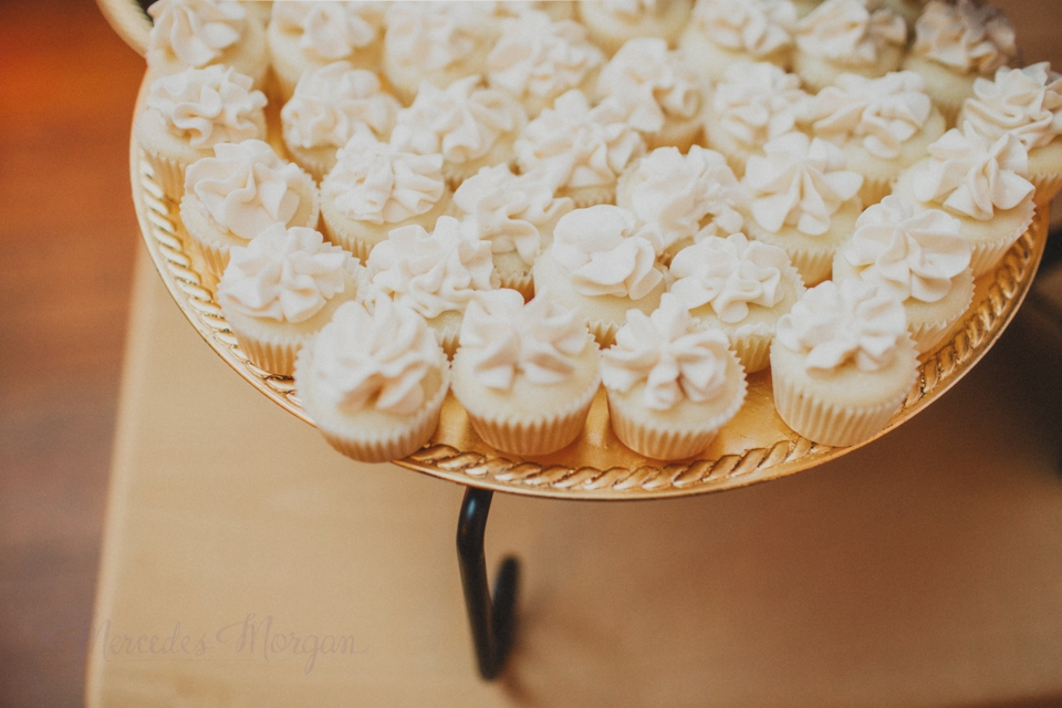 Wedding Dessert Buffet Mini Cupcakes