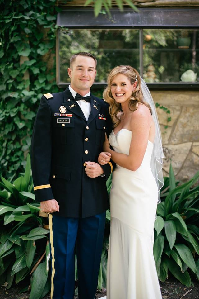 Military Bride & Groom