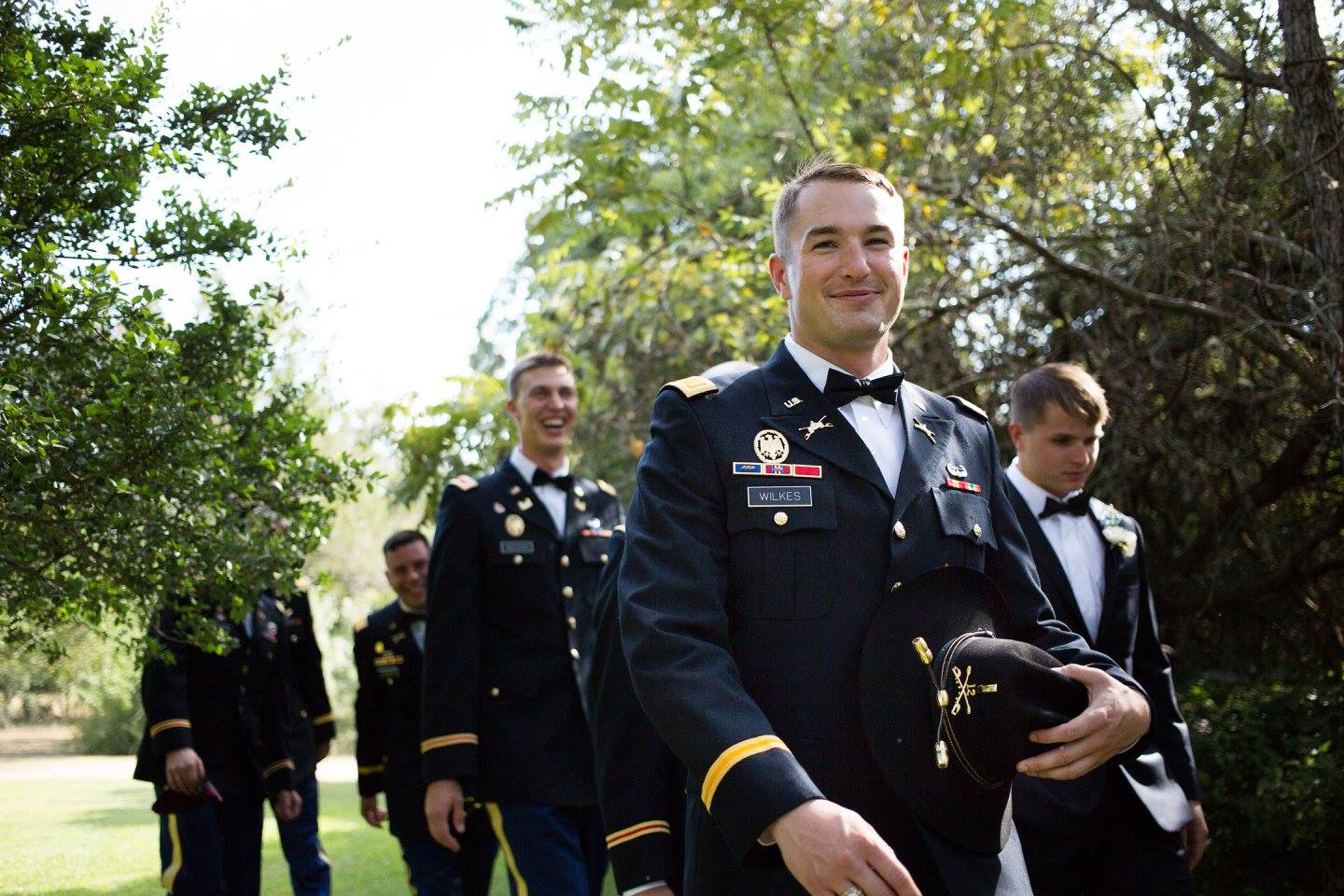 Red Corral Ranch Military Wedding