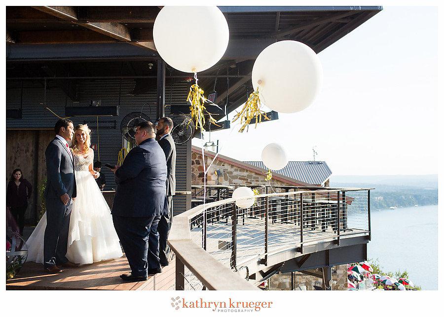 Mansfield at Lake Travis Wedding Ceremony
