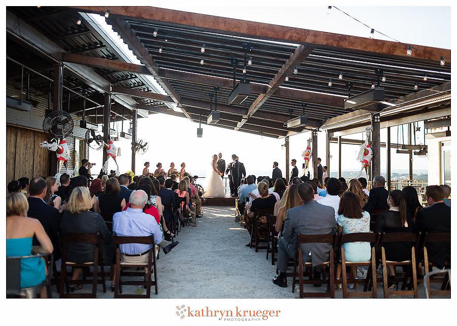 Mansfield on Lake Travis Wedding Ceremony